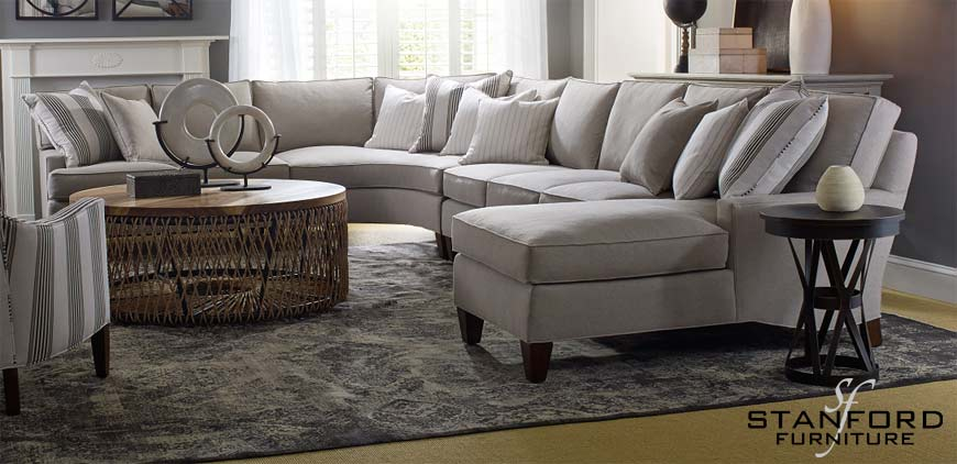 Stanford Furniture sectional