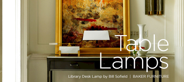 LIBRARY DESK LAMP by BILL SOFIELD
