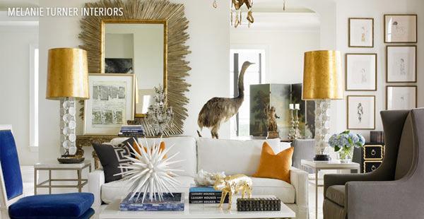 Melanie Turner Interiors' livingroom