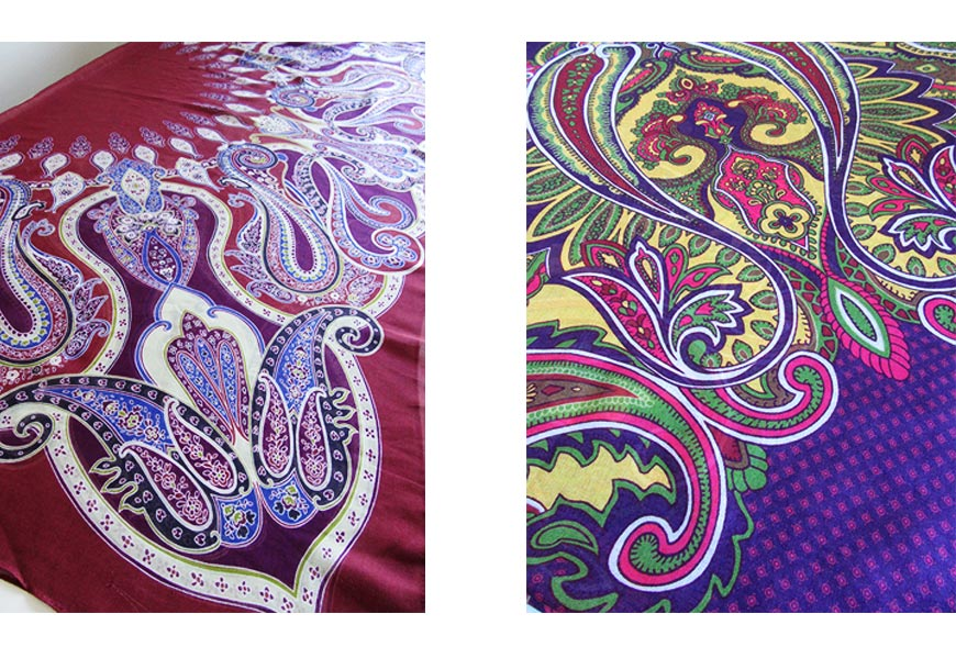 Paisley Power fabrics