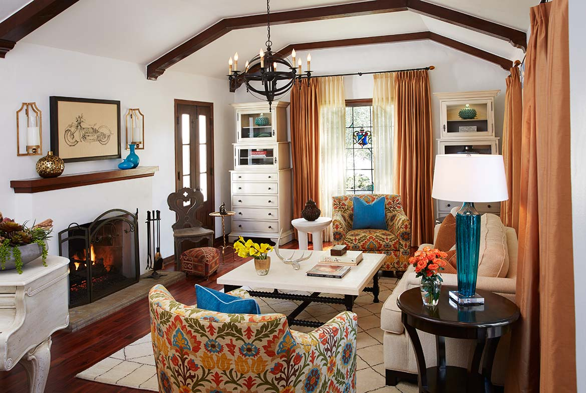 Living Room | Glendale | Traditional Eclectic