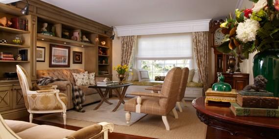 Living Room | Hidden Hills | Traditional