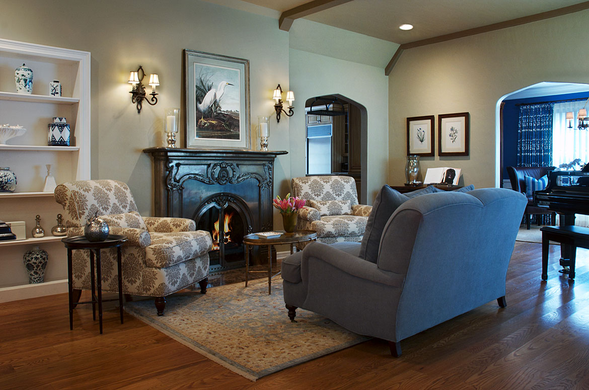 Living Room | Toluca Lake | Transitional