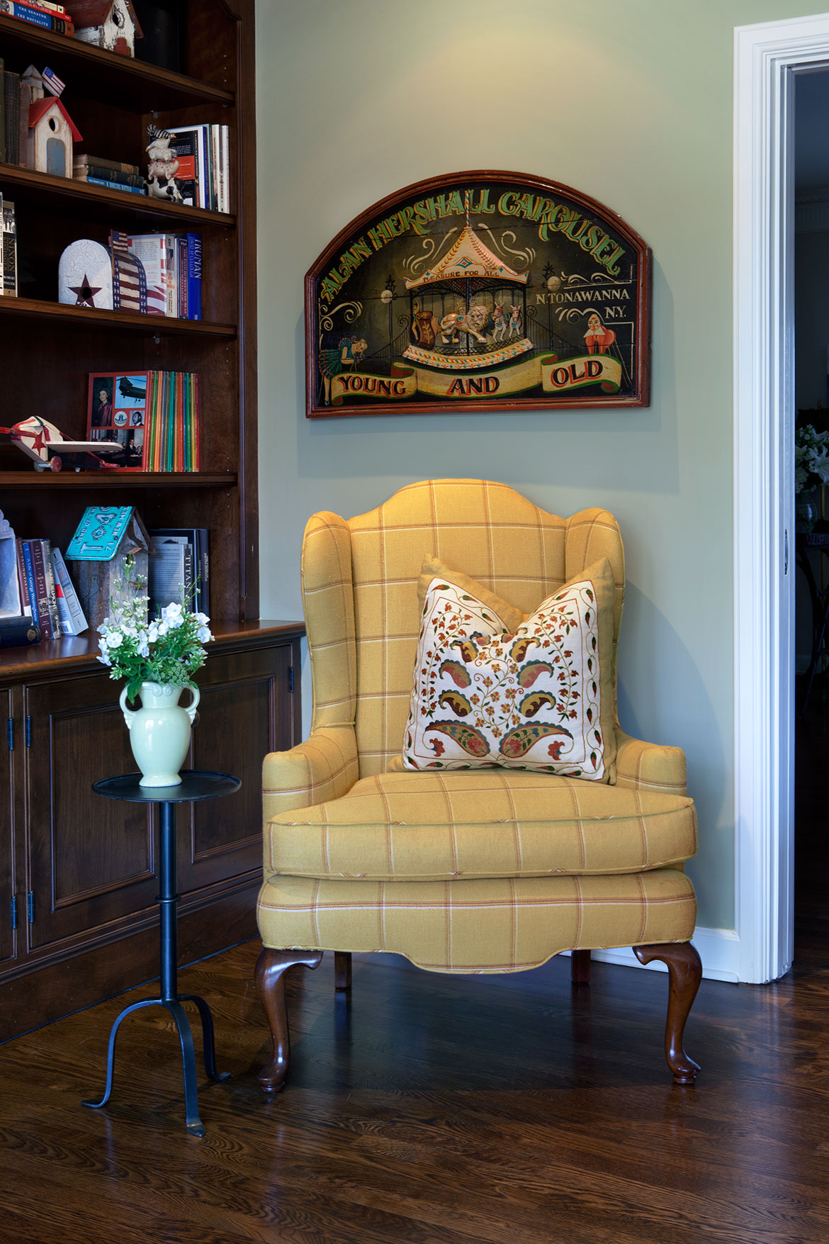 Family Room | Hancock Park | Traditional