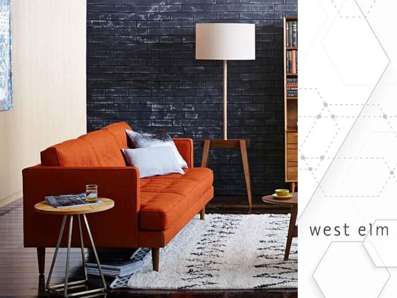 West Elm Mid-century sofa