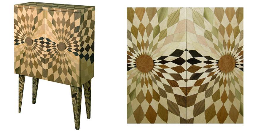 Artemest Artisan wood cabinet