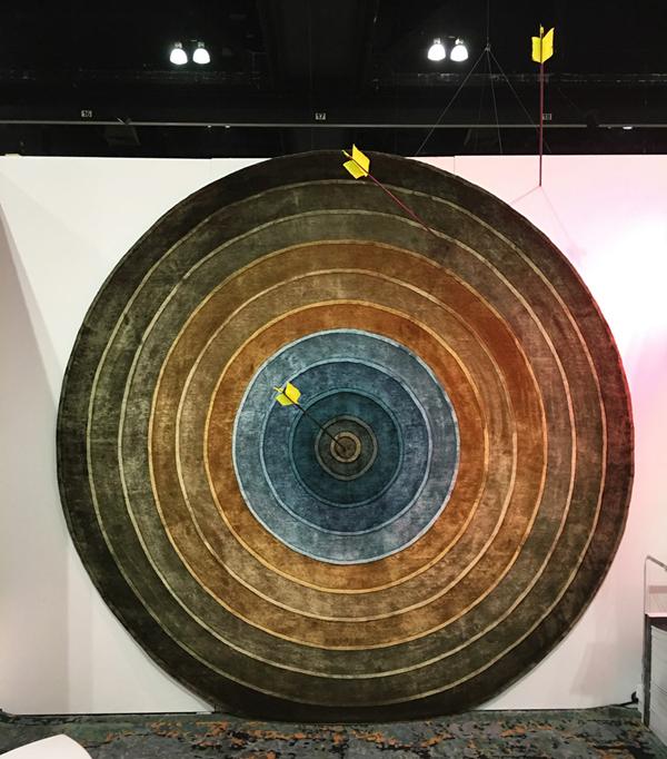 Kush Bullseye rug