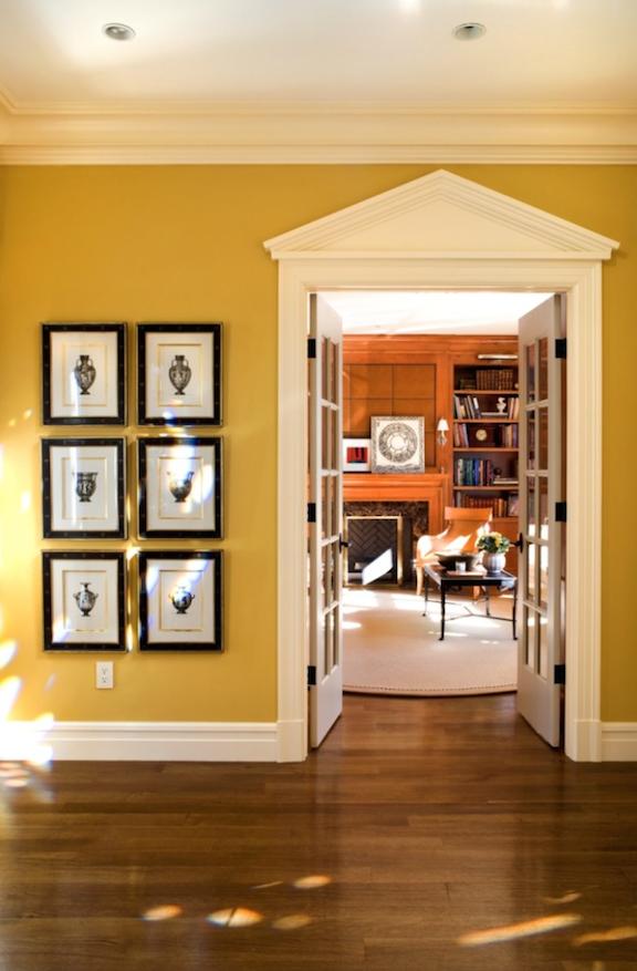 Sroka Design foyer to livingroom