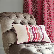 Duralee red fabrics
