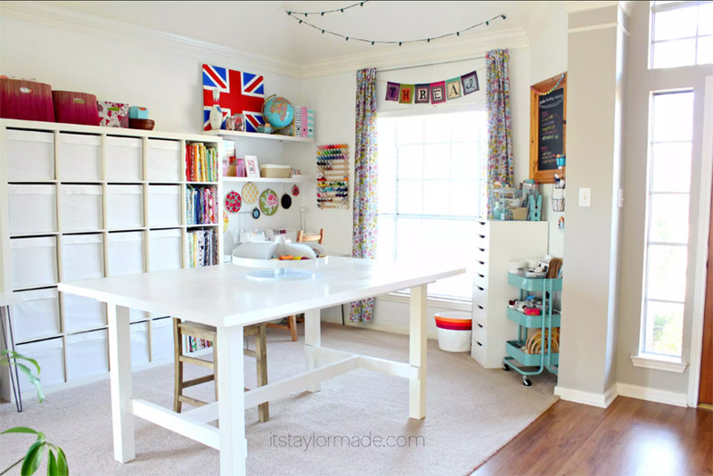 Taylor Made Craft room