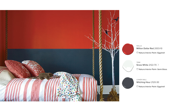 Benjamin Moore Kids' Room color