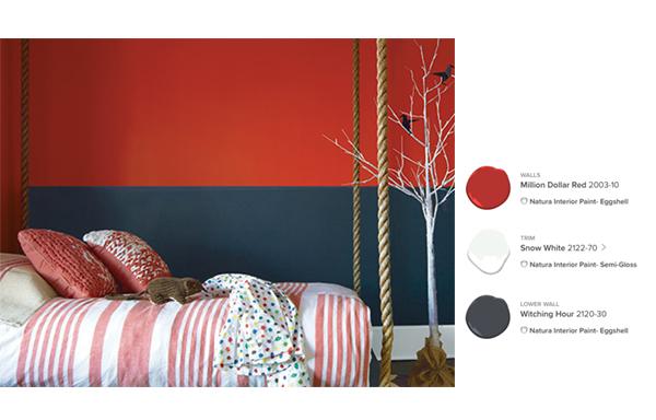 Benjamin Moore Kids' Room color