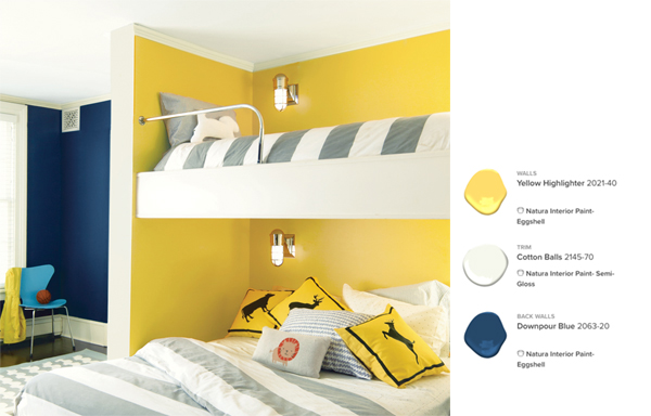 Benjamin Moore Bright Kids' Room