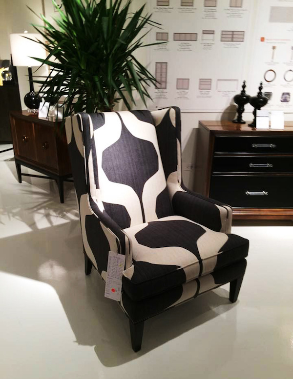 Hickory White modern classic chair