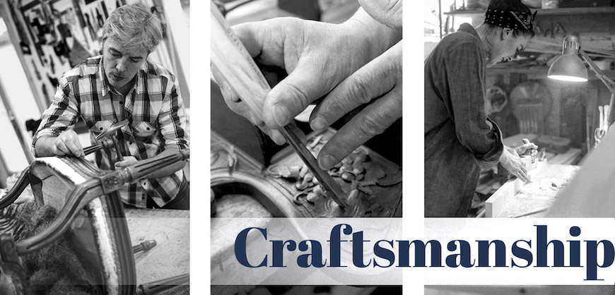Craftsman and Artisan Sculpted Furnishings