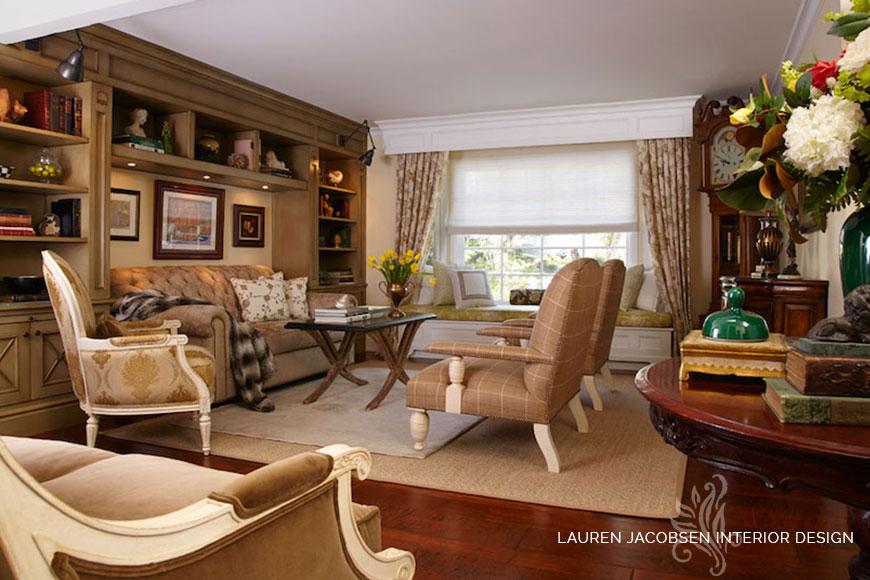 Lauren Jacobsen livingroom design