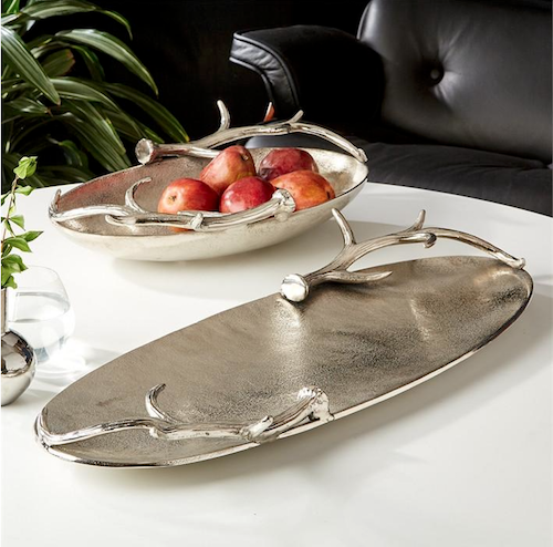 Burke-Decor-Tozai-silver-antler-trays