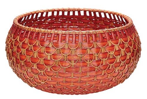 FISH SCALE BASKET by the ELK GROUP INTERNATIONAL