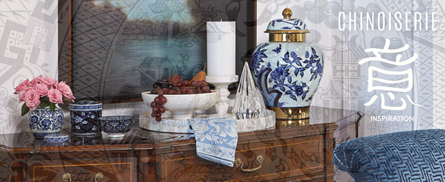 Chinoiserie - Inspiration for Chinese style in interior design