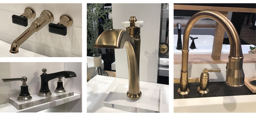 Brizo kitchen and bath faucets at KBIS