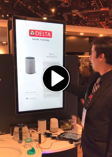 Video link-Delta Voice IQ with Alexa at KBIS