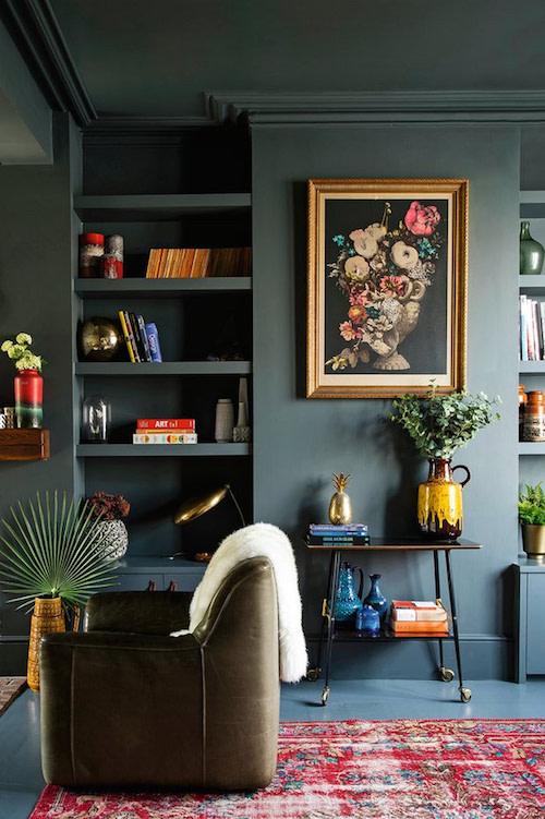 Living room design - UK - PHOTO COURTESY OF DAVID CLEVELAND PHOTOGRAPHY