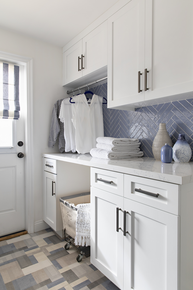 The Laundry room AFTER remodel