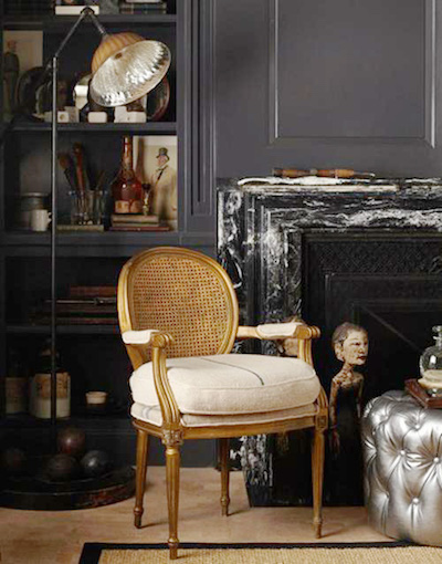Jonathan Rachman maximalism design showhouse detail with chair