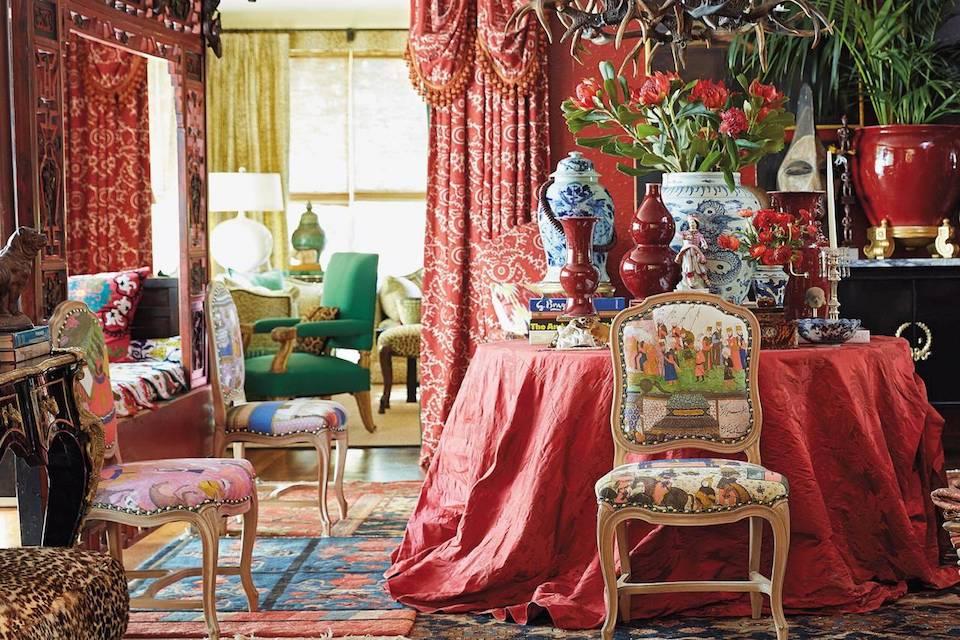 Michelle Nussbausmer maximalist lush interior decor