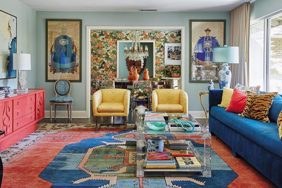 Michelle Nussbaumer maximalism interior design