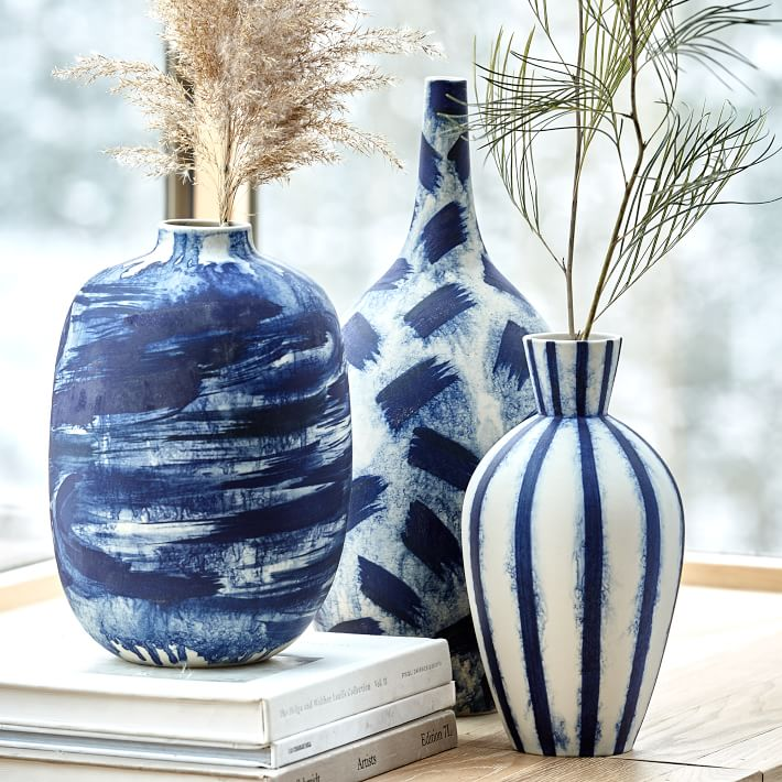 West-Elm-limited-edition-abstract-indigo-vases