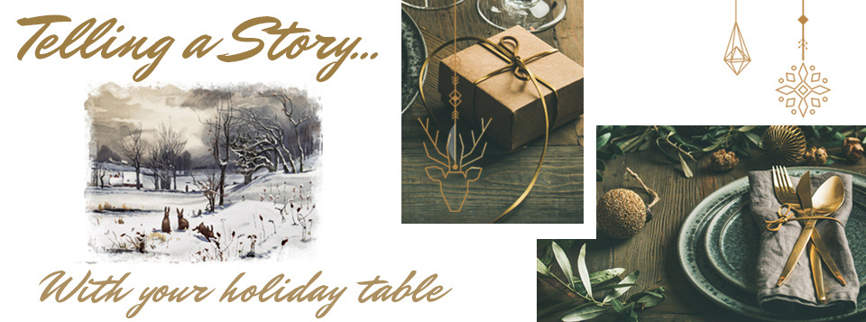 Telling a Story With Your Holiday Entertaining Tablescape