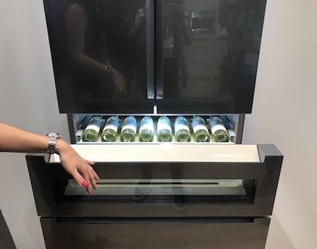 Bosch Refreshment Center appliance at KBIS