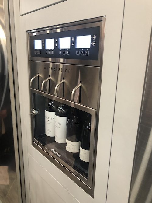 Decor Wine Station at KBIS