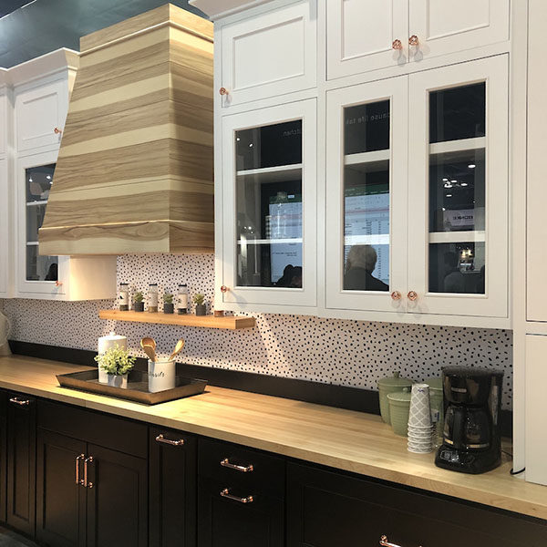 DeWils kitchen cabinetry at KBIS
