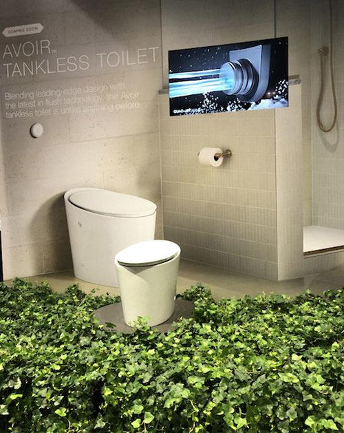 Kohler Avoir tankless toilet - KBIS