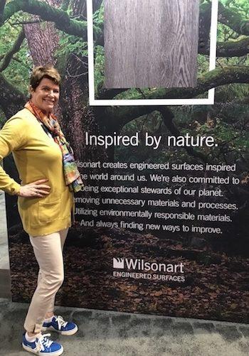 Lauren is inspired by nature