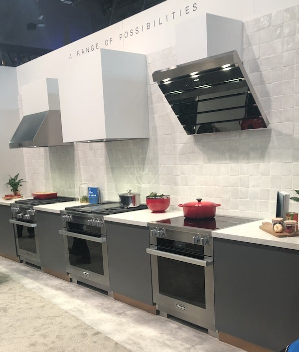 Miele kitchen ranges at KBIS