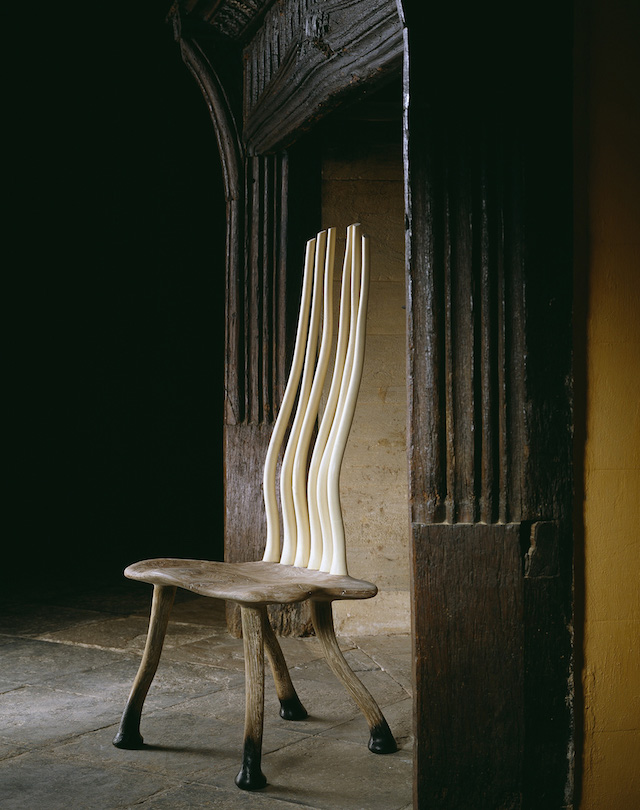 The Phoenix chair by John Makepeace, OBE