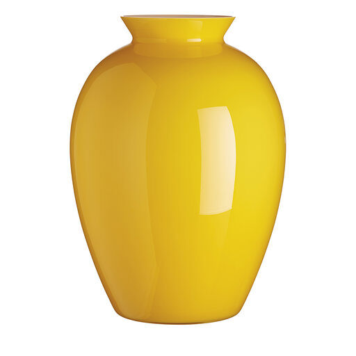 Lopas Yellow Vase by Carlo Moretti