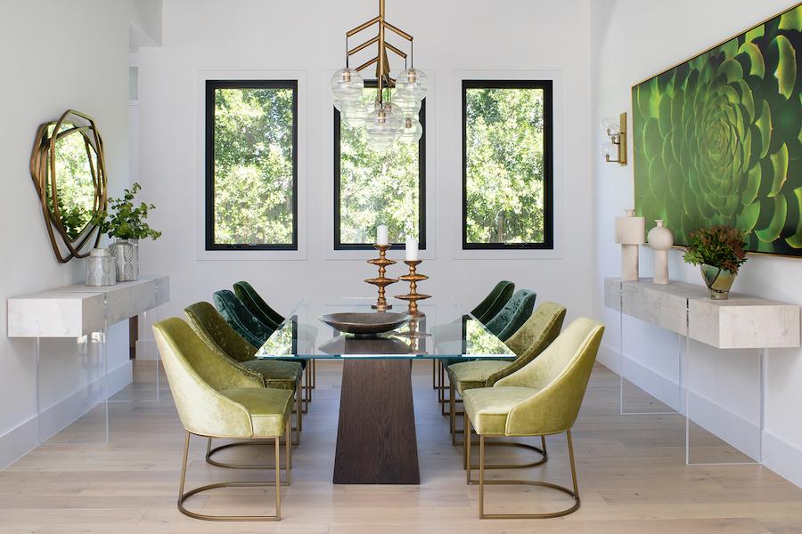 Lauren Jacobsen Interior Design, modern farmhouse, dining room