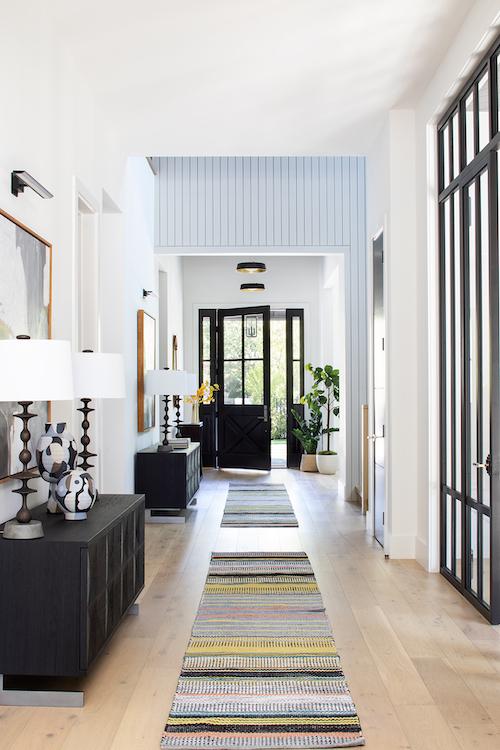 Lauren Jacobsen Interior Design, Hallway interior, modern farmhouse