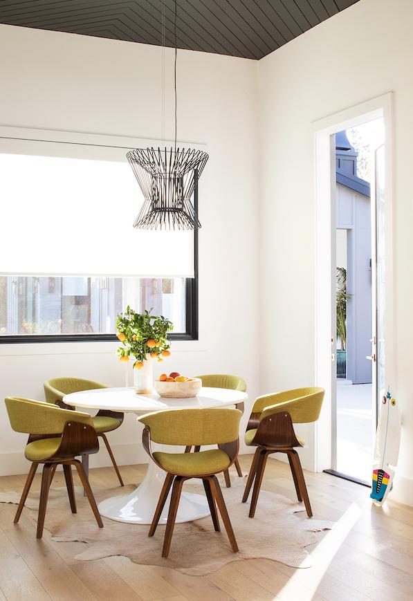Lauren Jacobsen Interior Design, modern farmhouse, kitchen table