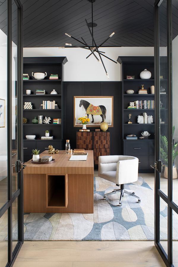 Lauren Jacobsen Interior Design, mosern farmhouse, home office